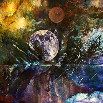 "Region of Dreams | 36"" x 48"" | Oil on Canvas | $4,200"