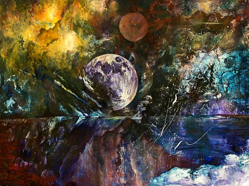 "Region of Dreams   Oil on Canvas   36 x 48""   $4,200"